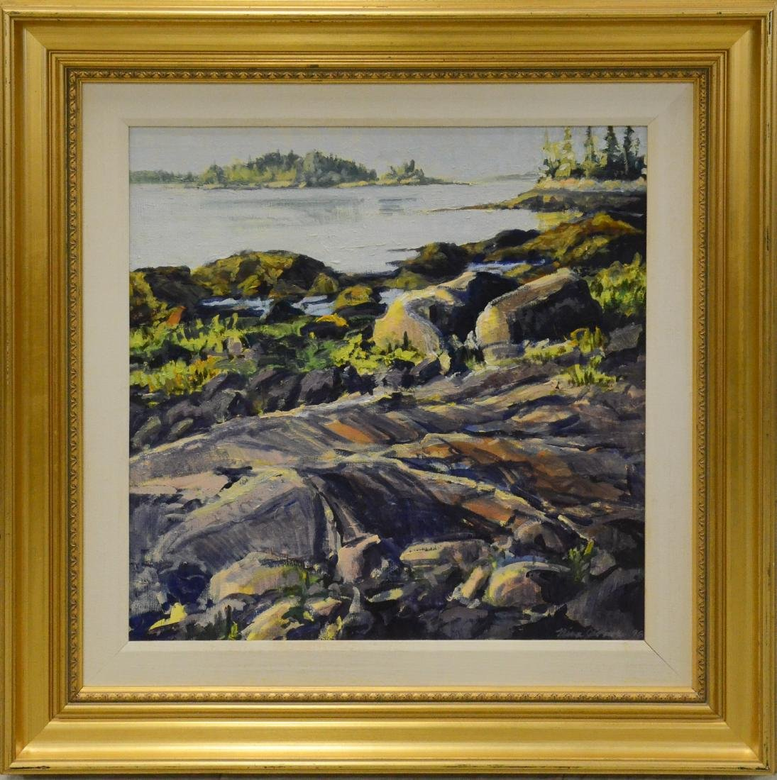 "Jerome, Nina, oil on canvas ""Early Light, Cool Granite"" - 2"