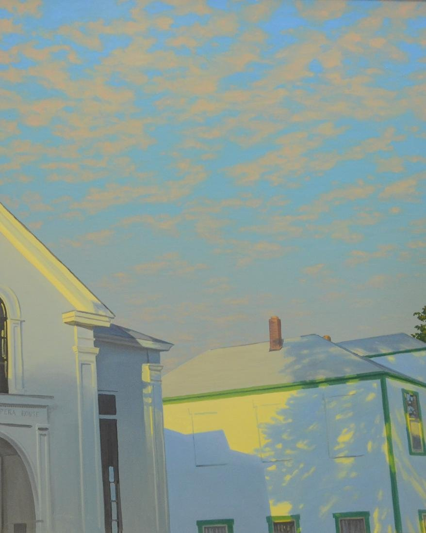 """Sturman, Rett, oil on canvas """"Curtain Call"""""""