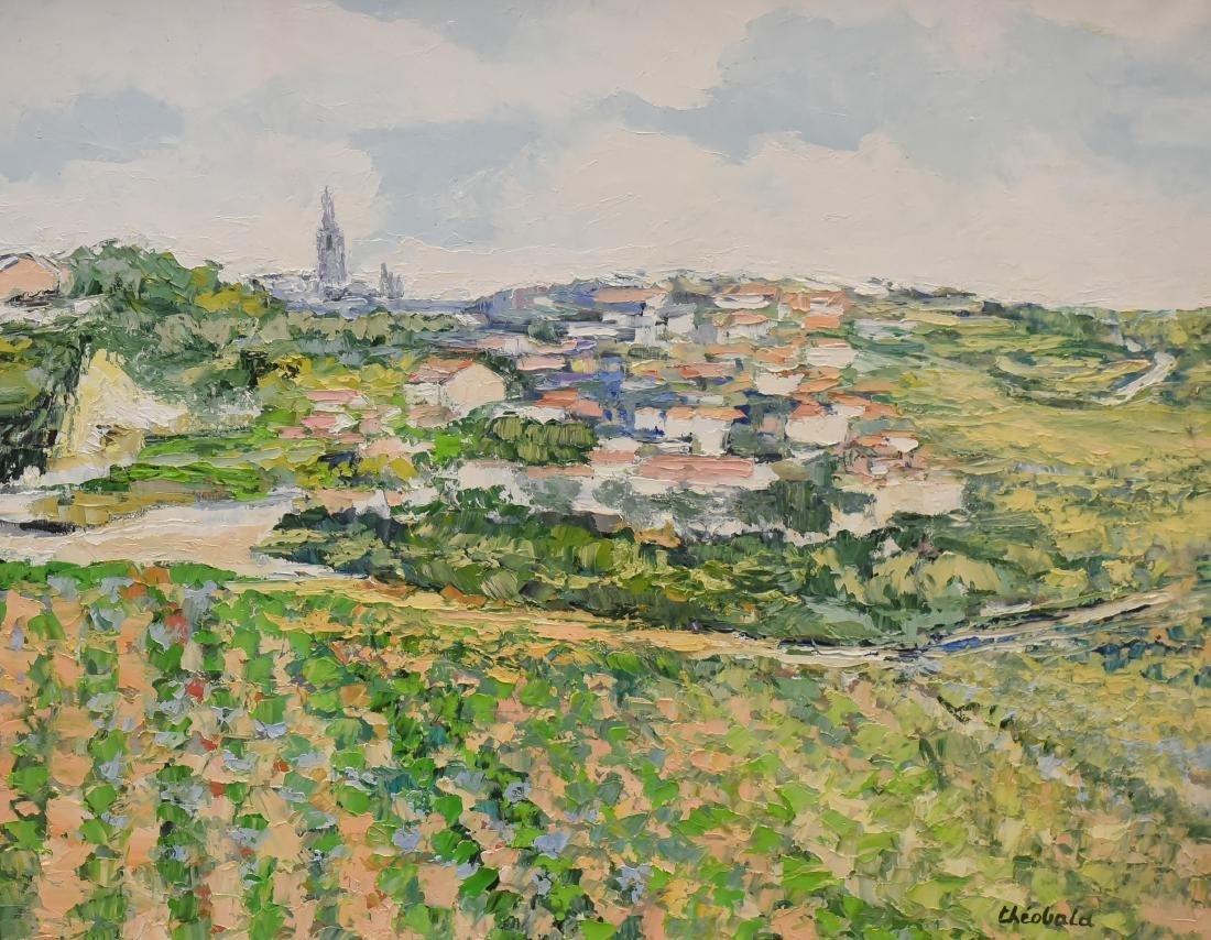 """Theobald, Renee, oil on canvas """"St Emilion"""""""
