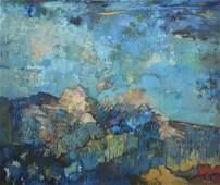 "Zuik, Martha, oil on canvas ""Un Cielo"""
