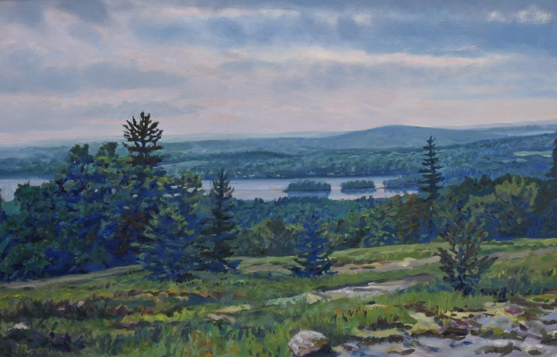 "Moore, Scott, oil on canvas ""High Meadow"""