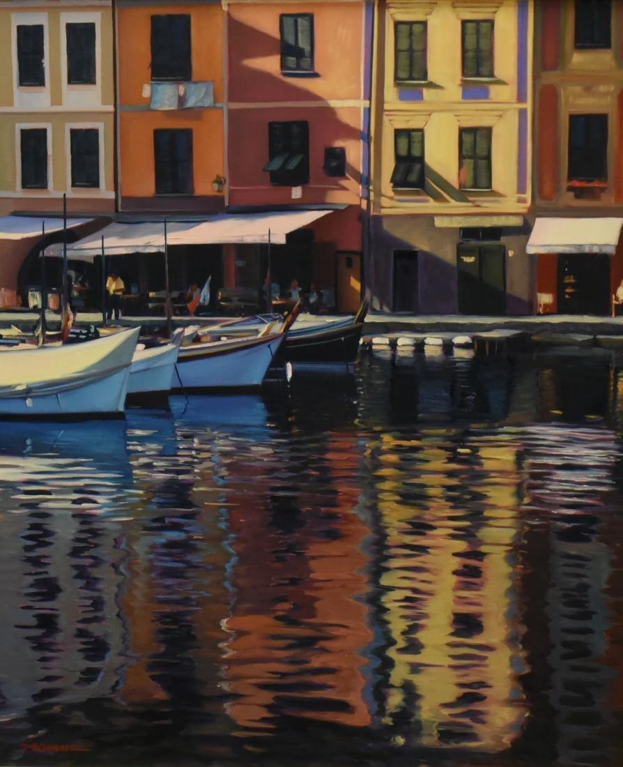 """Swimm, Tom, oil on canvas """"Mediterranean Mirror"""""""