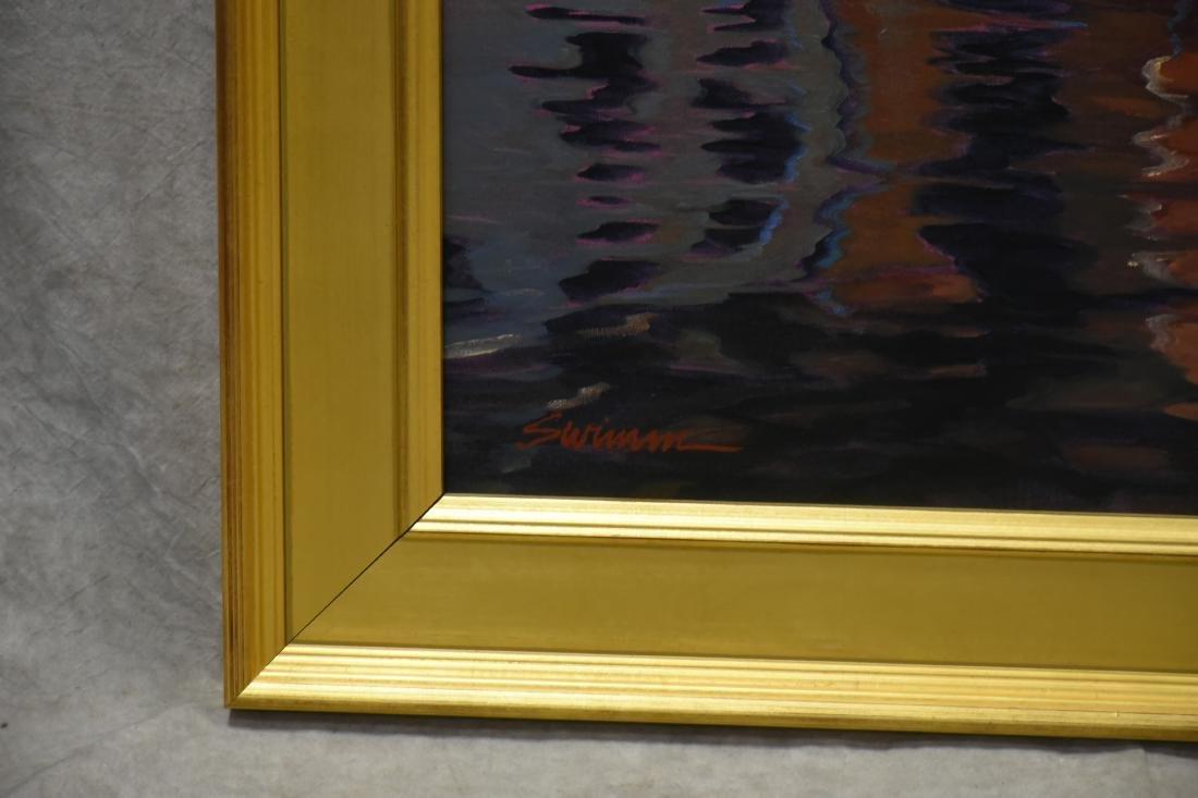 """Swimm, Tom, oil on canvas """"Mediterranean Mirror"""" - 3"""
