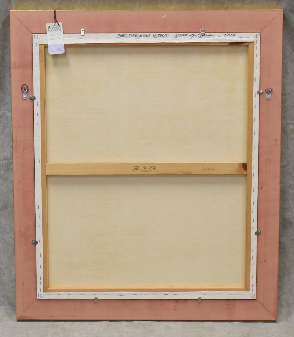 """Swimm, Tom, oil on canvas """"Mediterranean Mirror"""" - 4"""