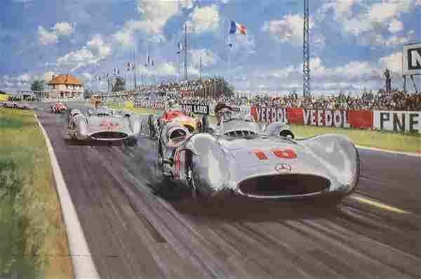 "Watts, Nicholas, offset lithograph ""Summer of 1954"""
