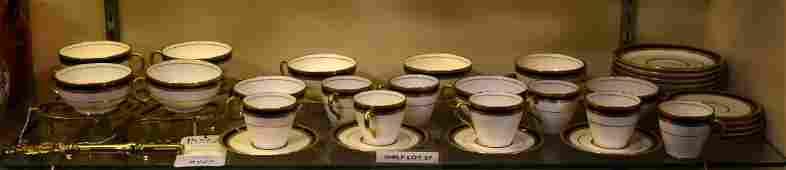 Shelf 27  Royal Doulton Porcelain  Brass