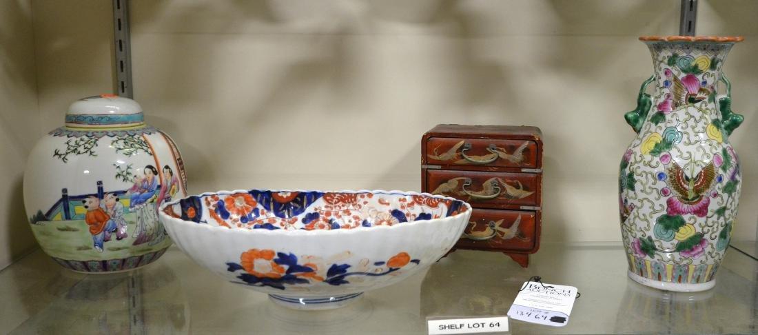 Shelf #64 - (4) Asian Items