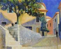 Neveu Pierre oil on canvas Cabris