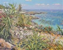 Bittar Pierre oil on canvas Mediterranean Coast