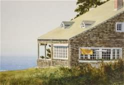"""Newnam, Thomas A., watercolor """"Monhegan Breeze"""""""
