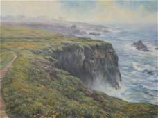 "Wiltse, Stephen, oil on canvas ""The Headlands"""