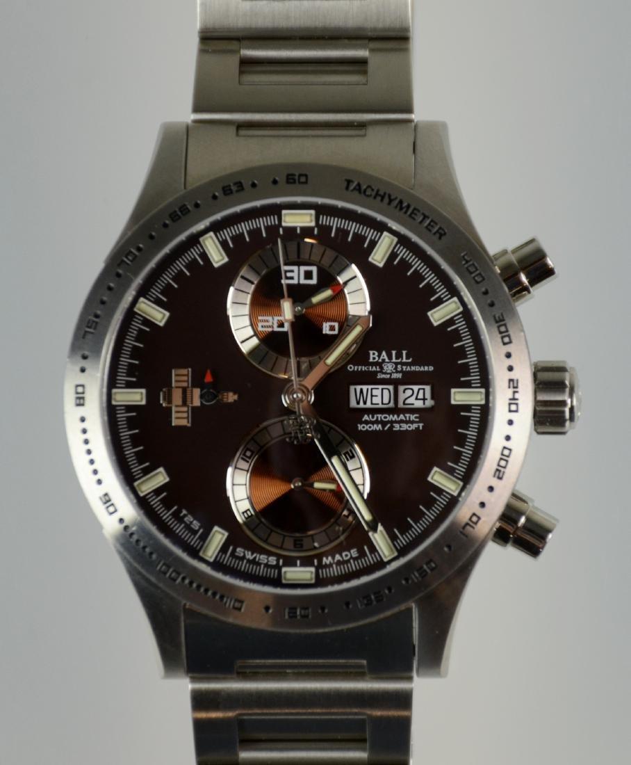 Men's White ball Skylab II watch