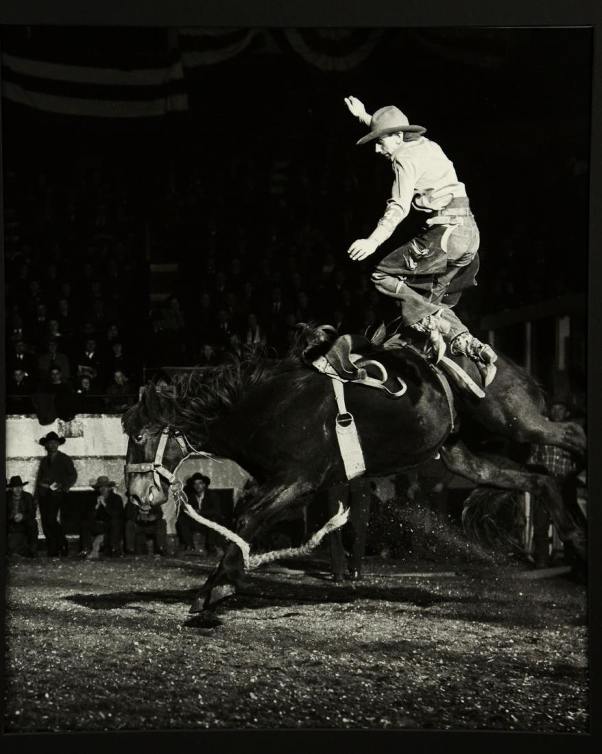 "Harold Edgerton Photograph ""Rodeo"""
