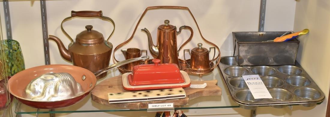 Shelf #89 - Kitchen Items
