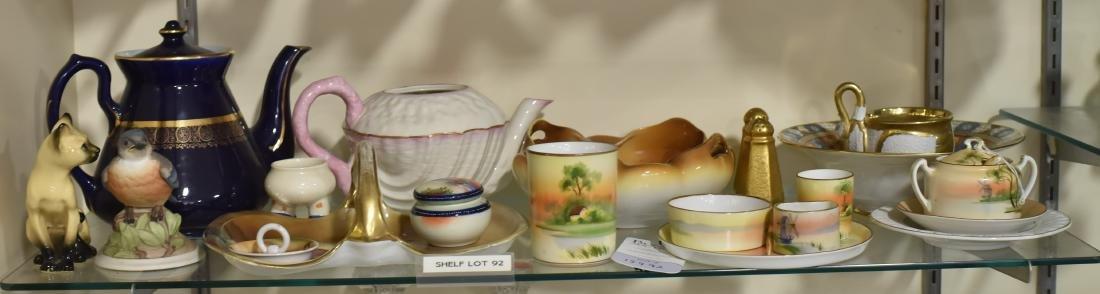 Shelf #92 - Porcelain Including Nippon
