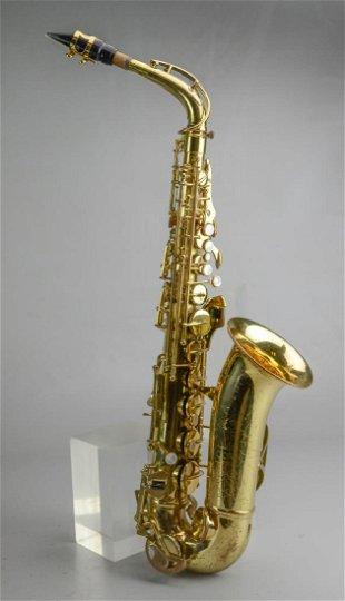 C G  Conn Vintage Tenor Saxophone A Melody 1914 - Mar 02