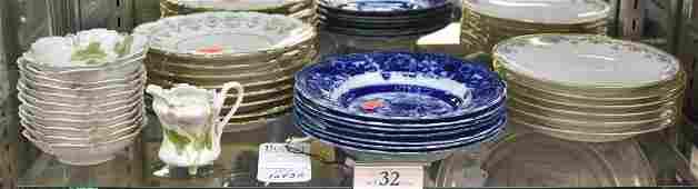 Shelf #32 - Porcelain Dinnerware