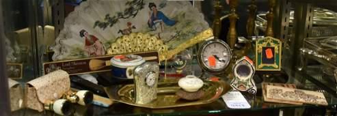 Shelf 54  Clocks and Binoculars