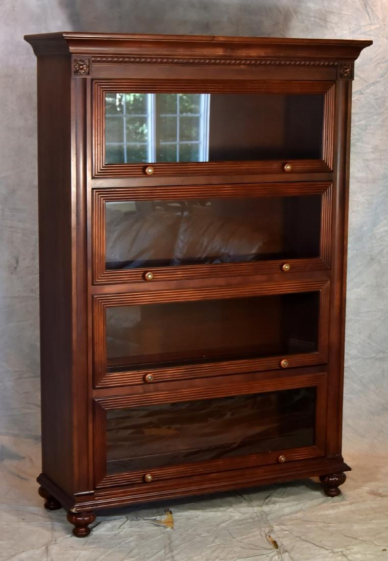 Ethan Allen Cherry Finished Barrister Bookcase