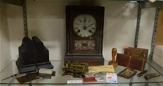 Shelf 74  Clocks Desk Items