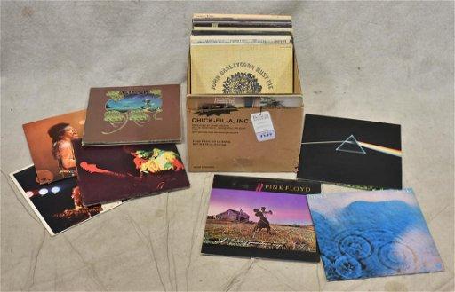 (35) 33-1/3 RPM Classic Rock Vinyl Albums