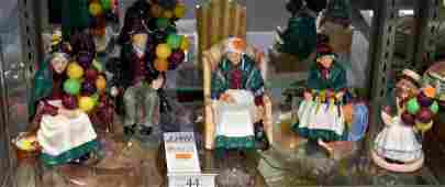 Shelf 44  5 Pcs Royal Doulton