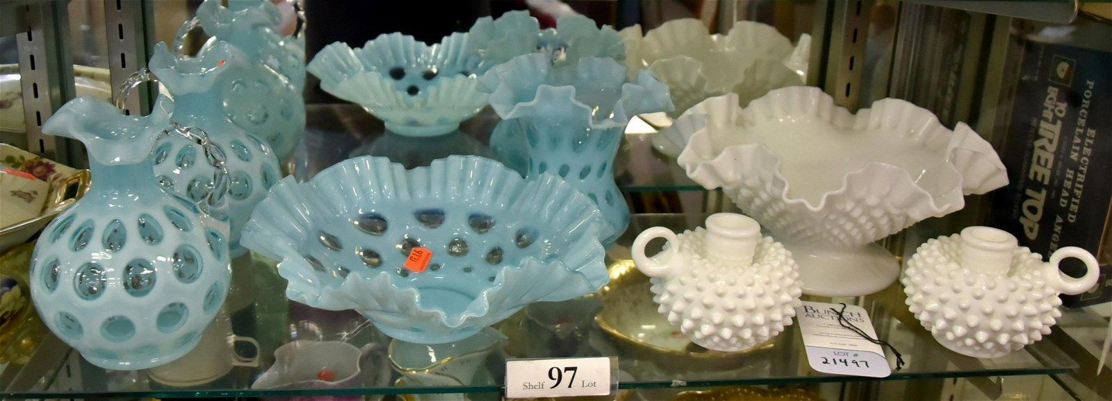 Shelf #97 - Fenton Glassware