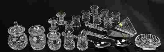 (20) Pcs Waterford Crystal