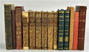 (14) Various Antiquarian Books including Charles