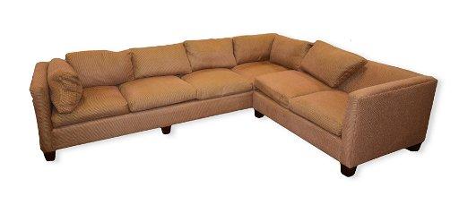 Charles Andrews Custom 2-pc sectional sofa
