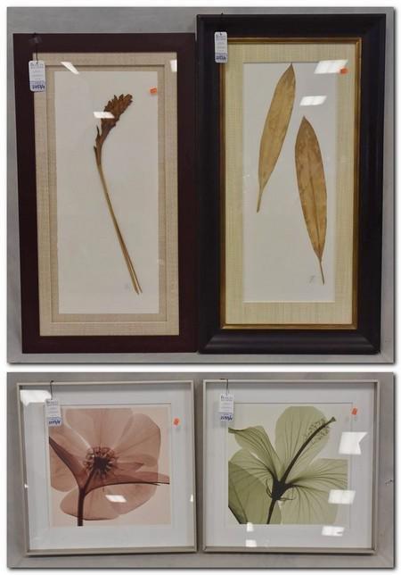 (4) pcs of decorative art