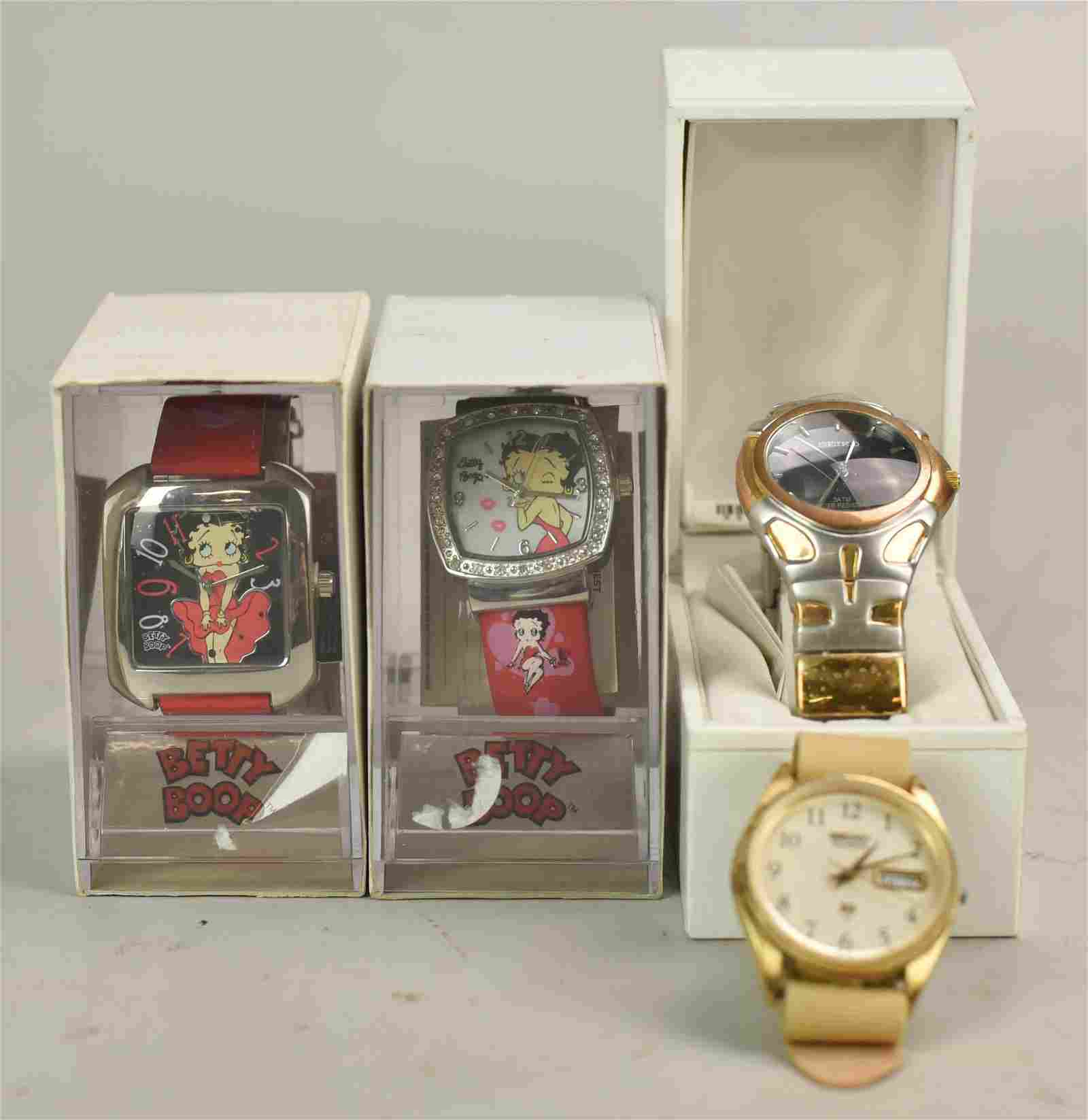 (4) Watches Including Seiko