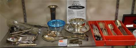 Shelf 63  Silver Plate
