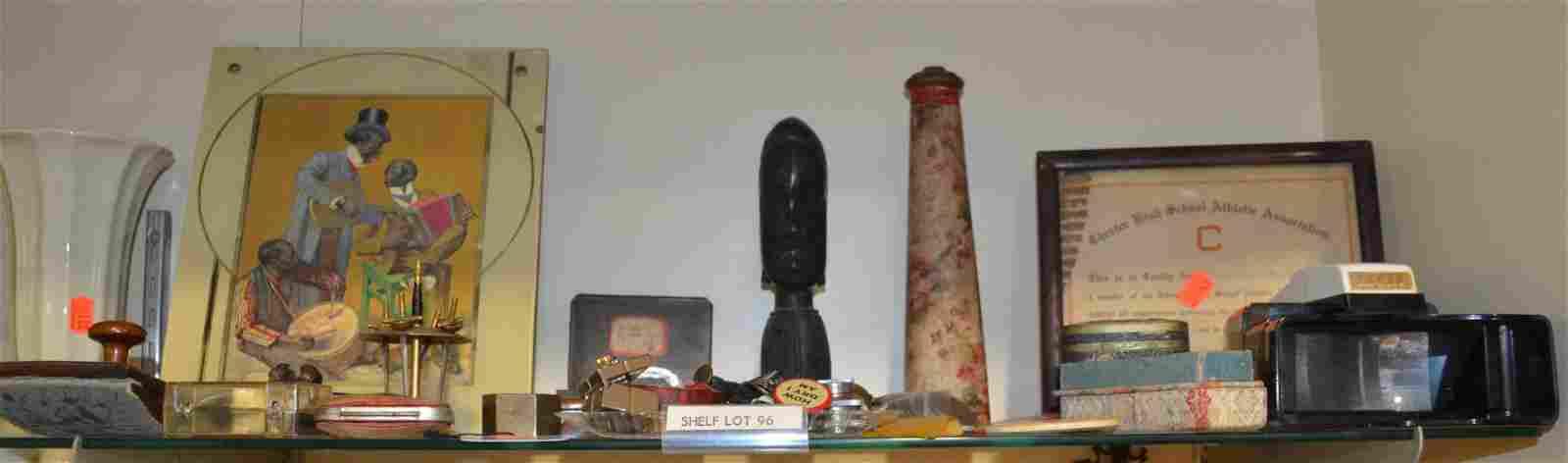 Shelf #96 - Jewelry, Ink Blotter