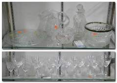 Glass and Crystal Lot