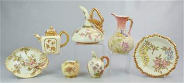 (7) Pcs Royal Worcester & Similar Porcelain