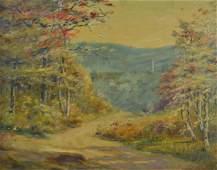 Frank Hendry Blue Hill Vista Autumn Landscape
