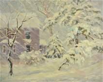 "Frank Hendry "" wintry Outlook from my Window"""