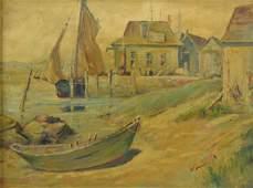 """Frank Hendry """"Menemsha Wharf, MA"""""""