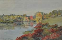 "Frank Hendry ""Autumn, Westwood MA"""
