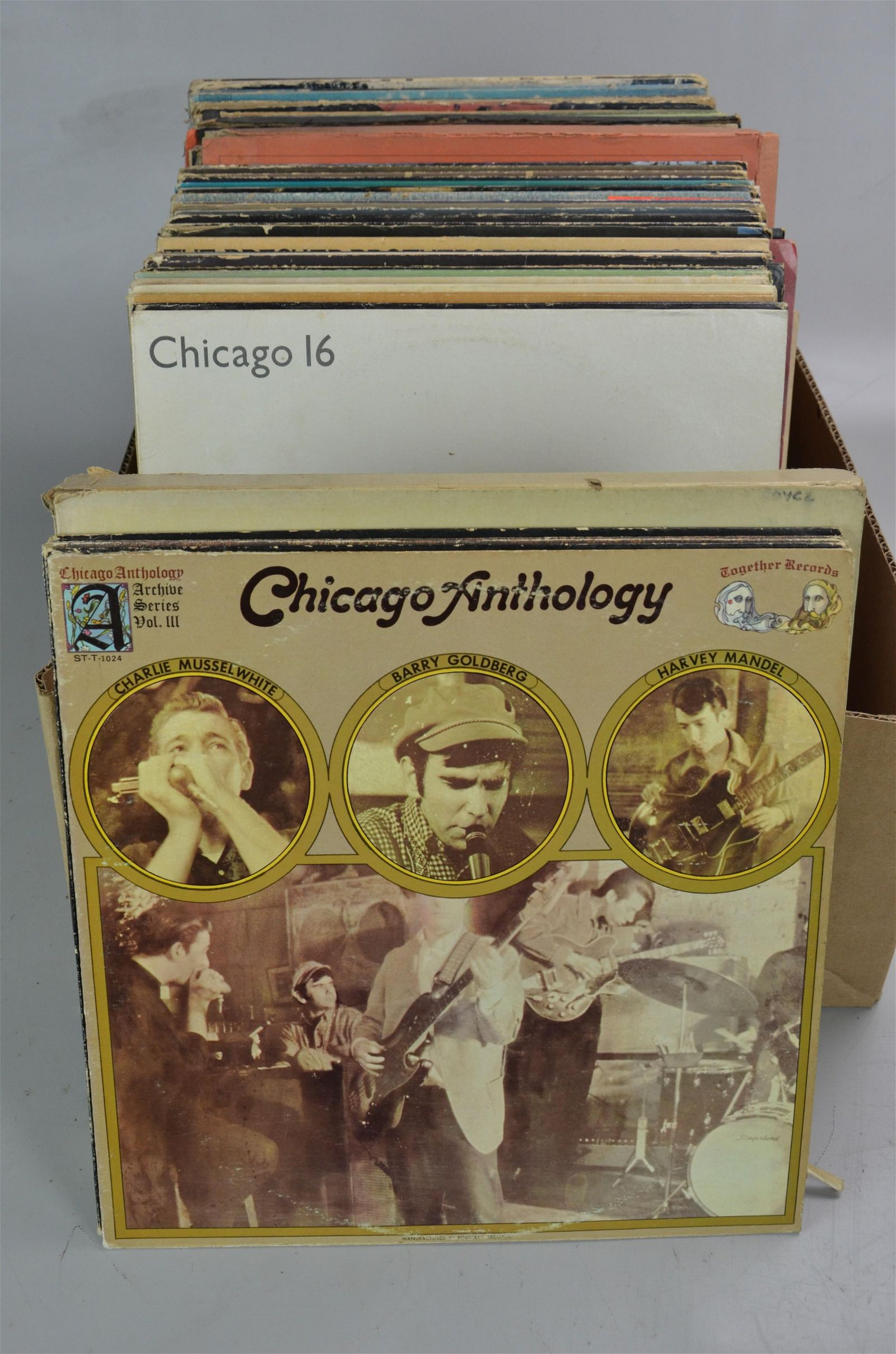 Lof of 83 Classic Rock 33-1/3 Records