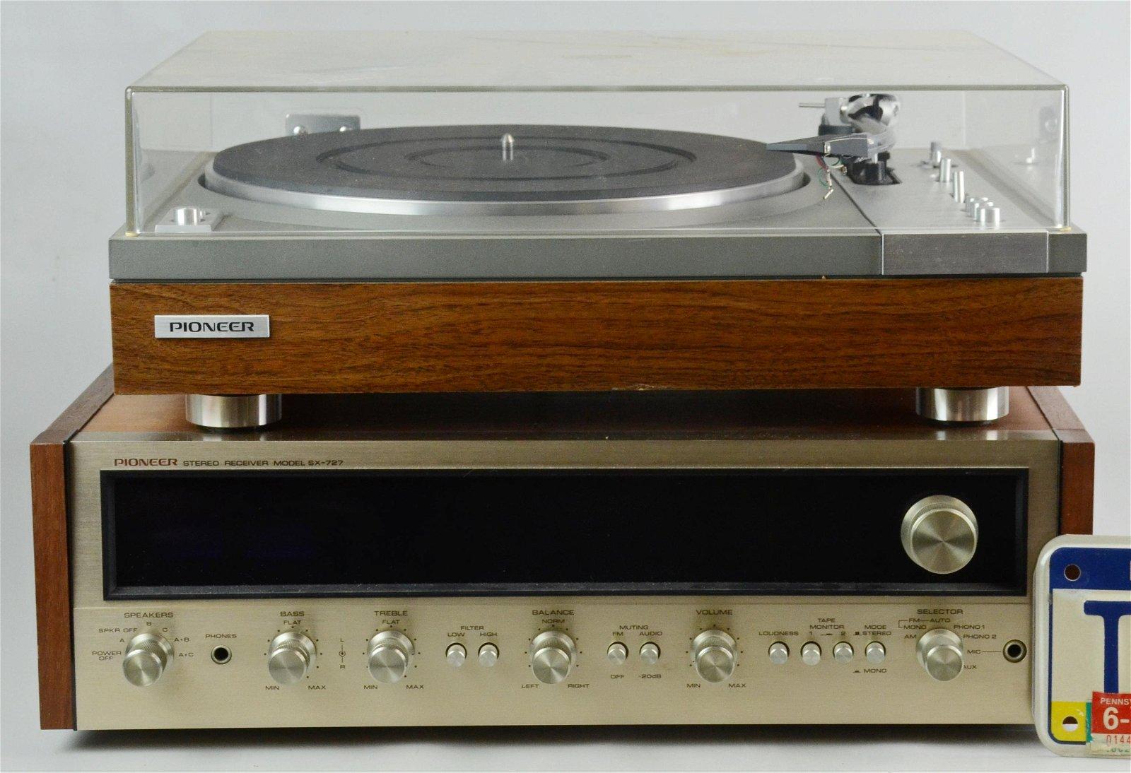 Tonnadel f/ür Plattenspieler M 6500 von Pioneer