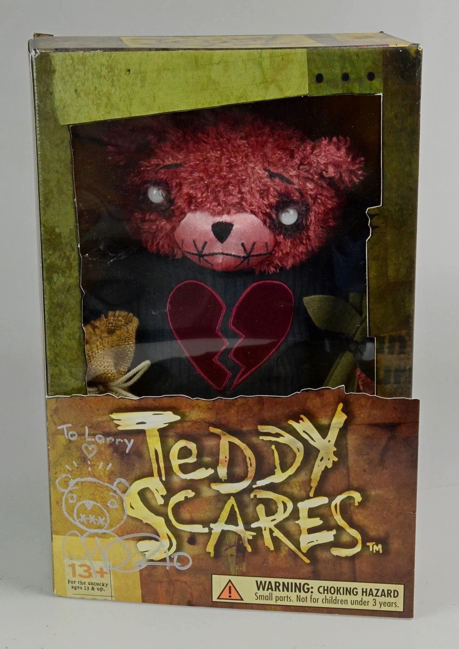 Teddy Scares Edwin Morose Figure