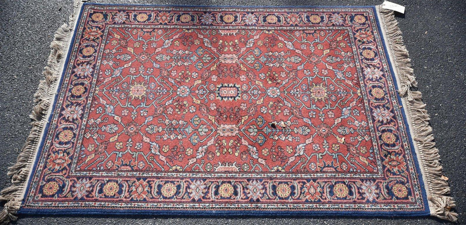"4'3"" x 6' Karastan Serapi rug"