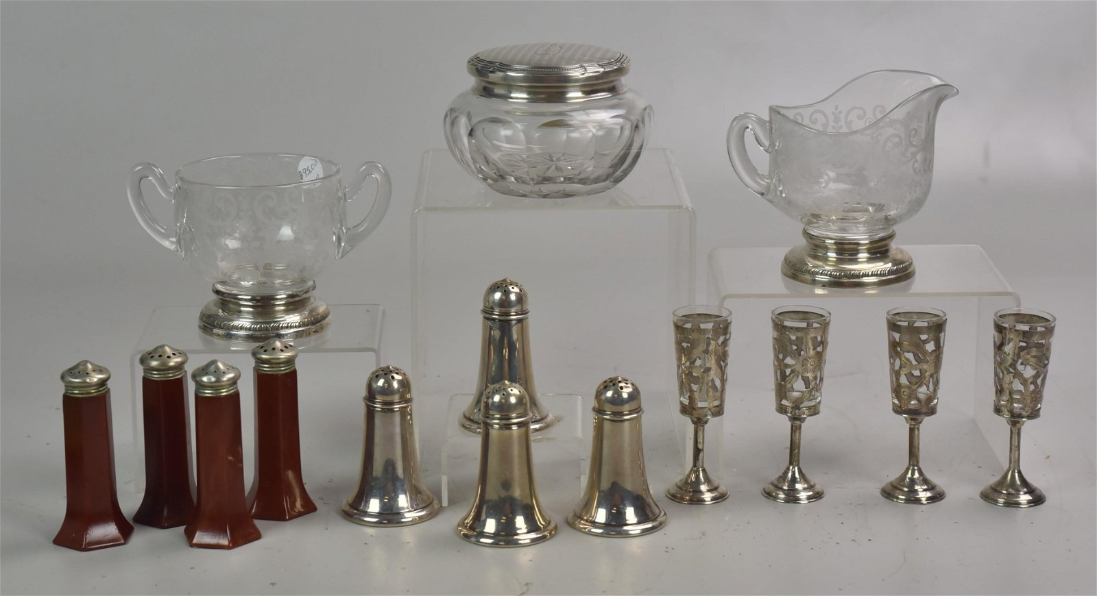 Sterling Tableware Grouping