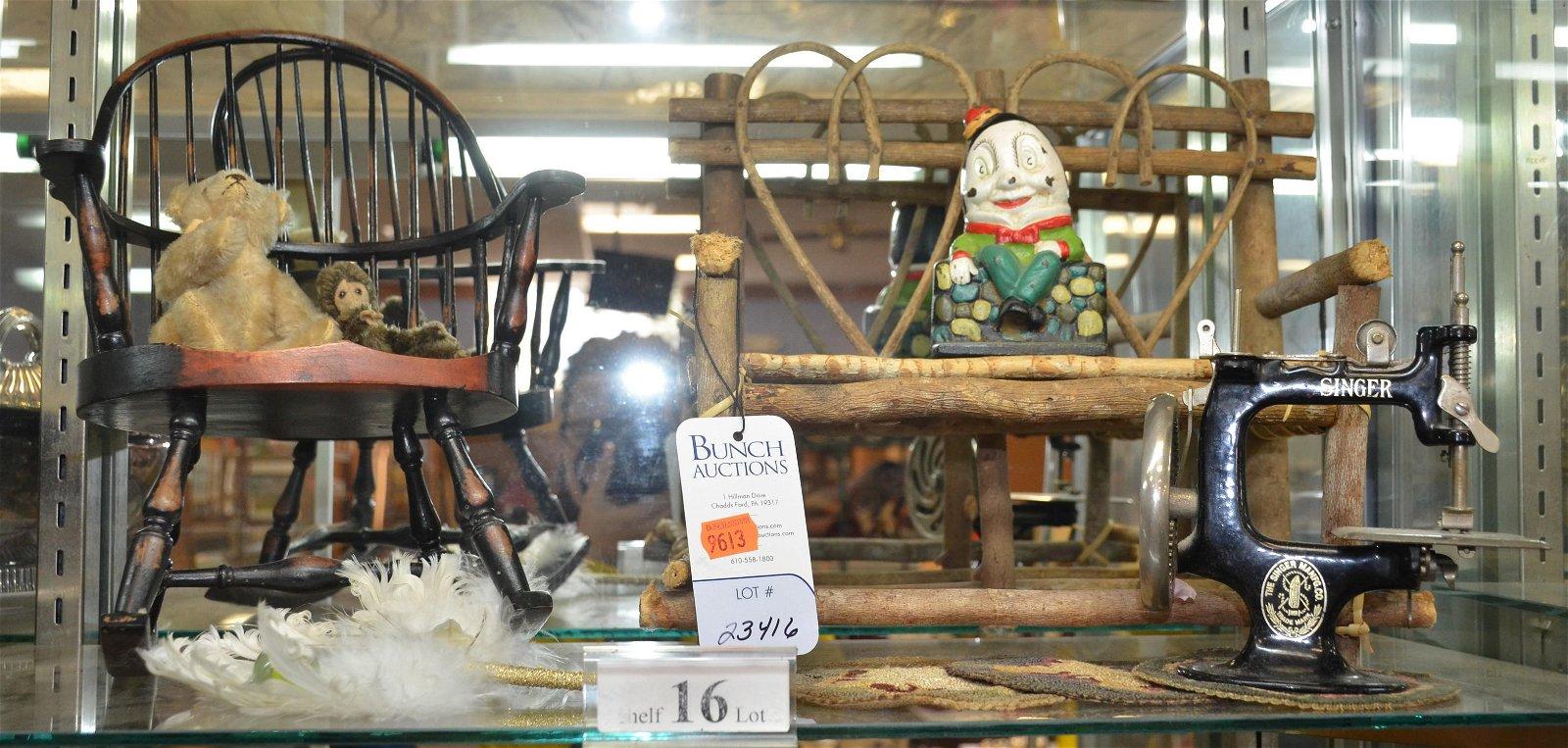 Shelf #16 - Toys & Doll Items
