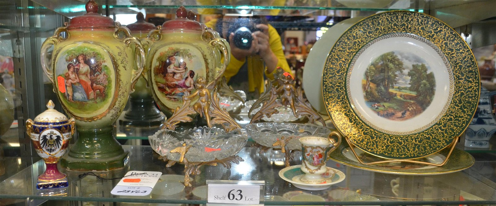 Shelf #63 - Porcelain & Glass