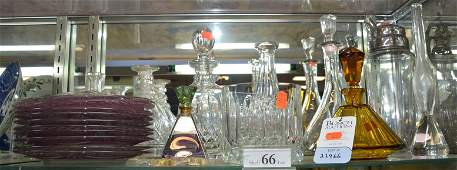Shelf 66 Crystal and Glass Lot