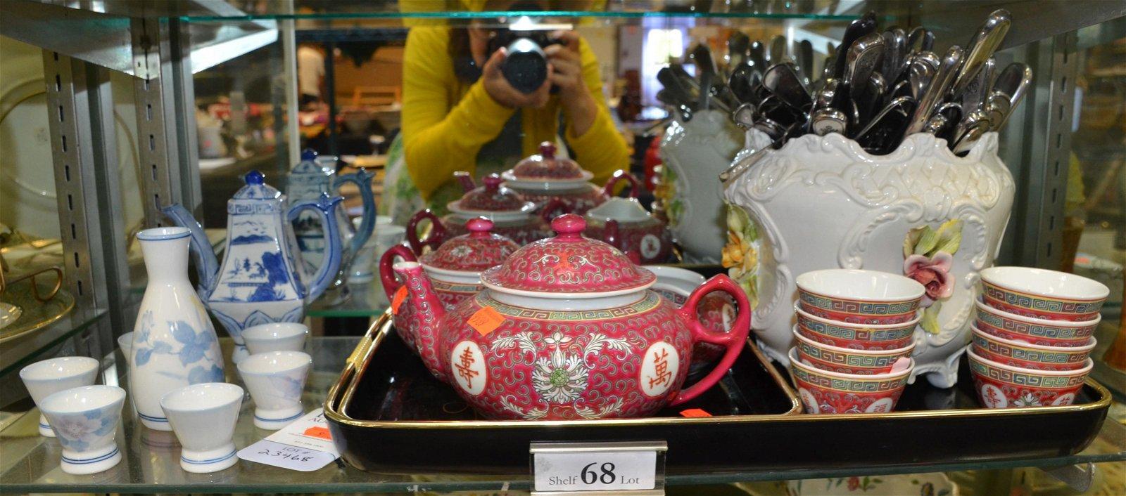 Shelf #68 - Chinese Items and Utensils