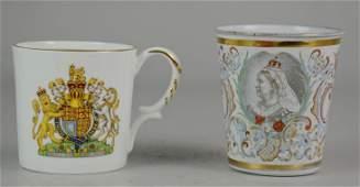 2 England Coronation Anniversary Souvenirs